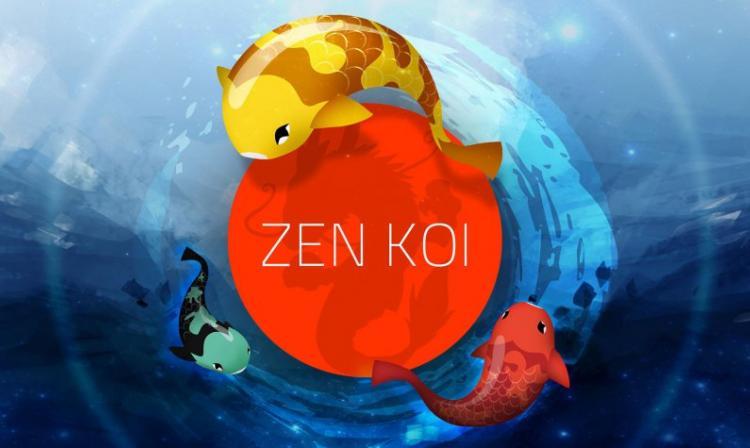 Zen koi un juego pensado s lo para relajarte tecno for Como criar peces koi