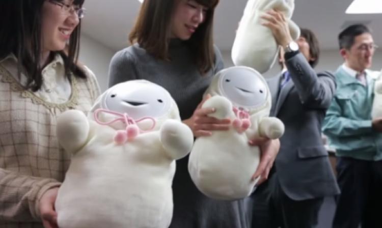 Robots Japoneses Japoneses Crean Bebés Robots
