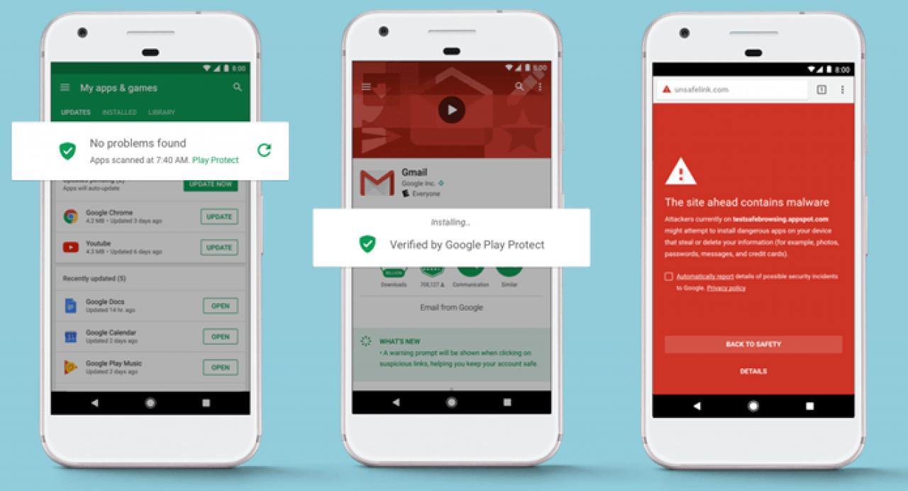 El nuevo antivirus nativo de Android se llama: Google Play Protect