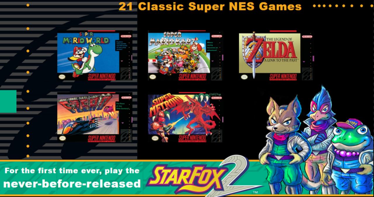 Nintendo Anuncia Su Nueva Snes Mini Con 21 Juegos Tecno